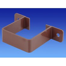 Wavin OSMA 4T834 BROWN Pipe Bracket for 61mm Square downpipe
