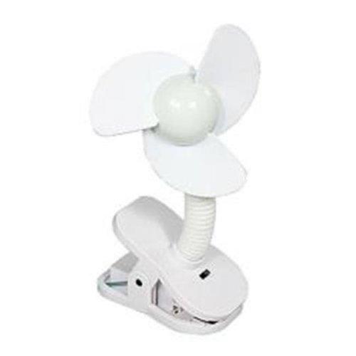 Dreambaby Stroller Fan - White