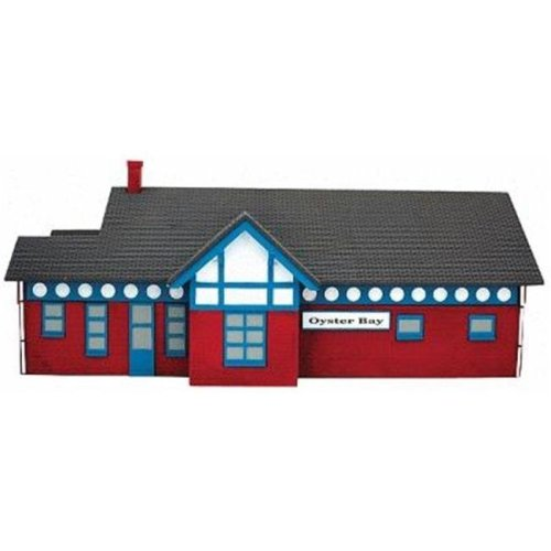 IMEX IMX6330 Oyster Bay Station Assembled Perma-Scene, N Scale Model  Railroad Building