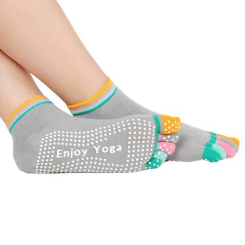Five-finger Cotton Sports Socks Soft Non-slip New Design Yoga Socks #3