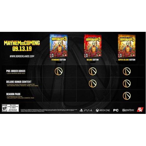 Playstation PS4 Borderlands 3 Game