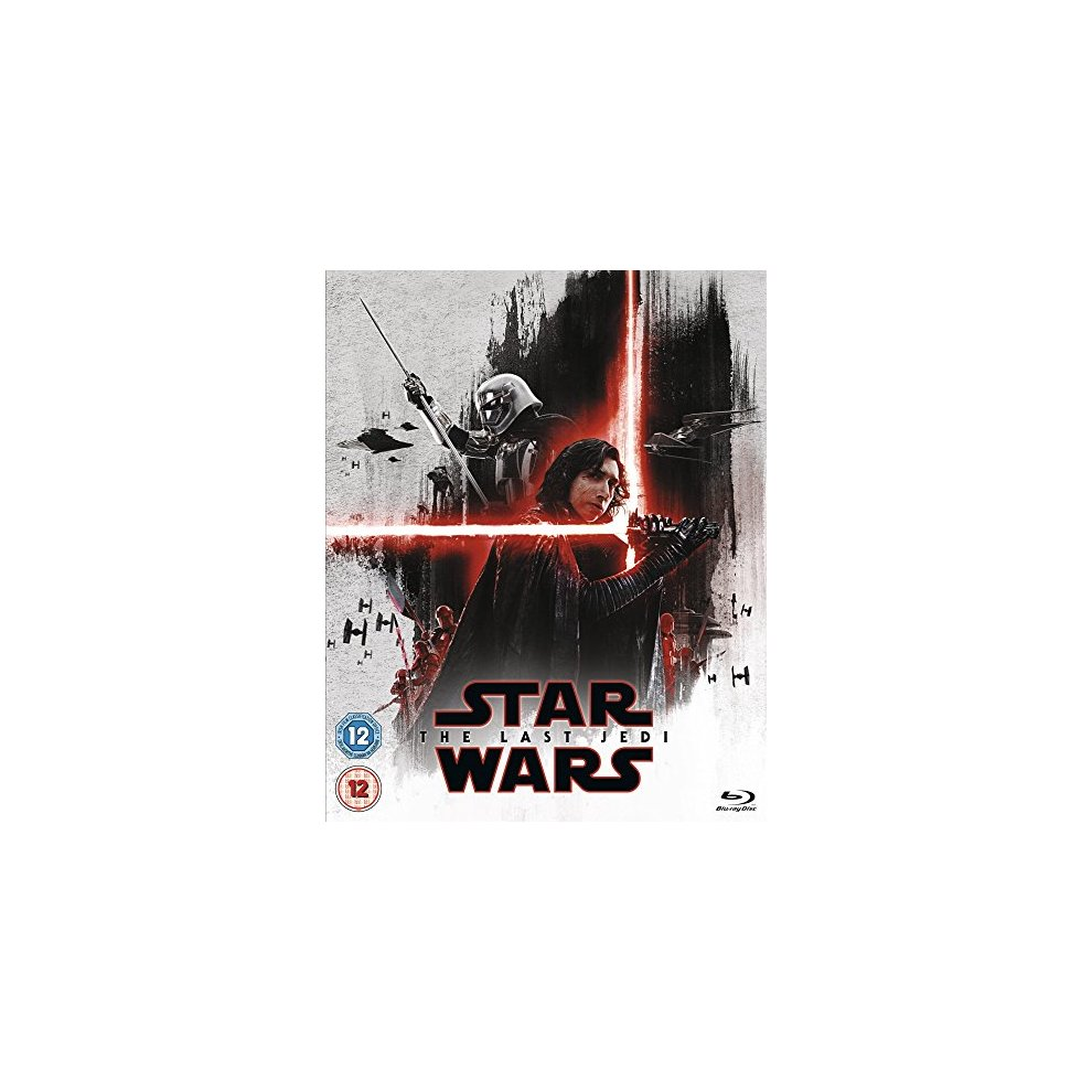 Star Wars: The Last Jedi -  Limited Edition The First Order Sleeve [Blu-ray] [2017] [DVD]