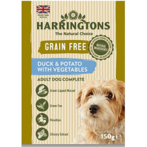 Harringtons Grain Free Duck & Potato with Vegetables