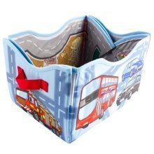 deAO Children's playmat and toy box convertible set.
