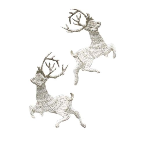 Cute Deer Applique Patches Iron on Applique Sewing Patches Embroidery Appliques