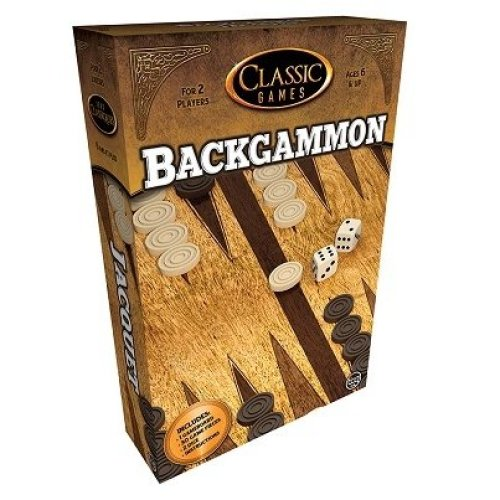 Classic Games Backgammon Game