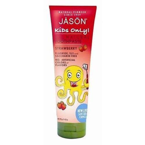 Jason Bodycare Kids Strawberry Toothpaste 119g