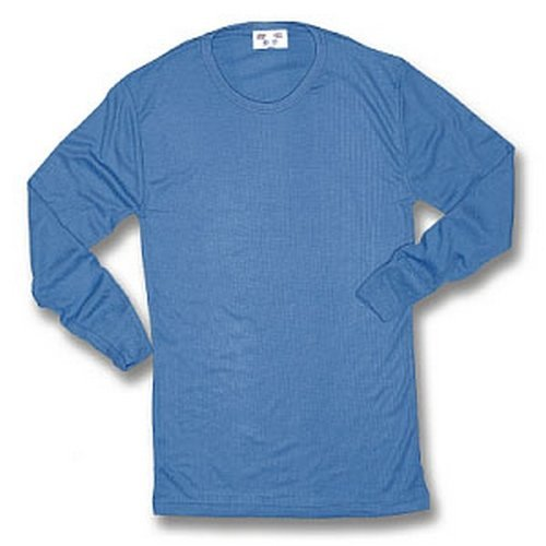 Click THVLSXL Thermal Vest Long Sleeve Blue XL
