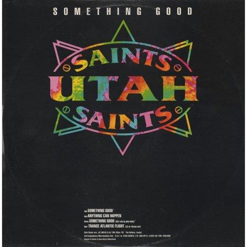 Something Good / Trance Atlantic Flight [Audio Cassette] Utah Saints
