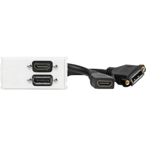VivoLink Outlet Panel Displayport+HDMI