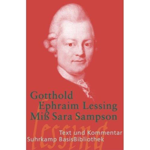 Miß Sara Sampson.