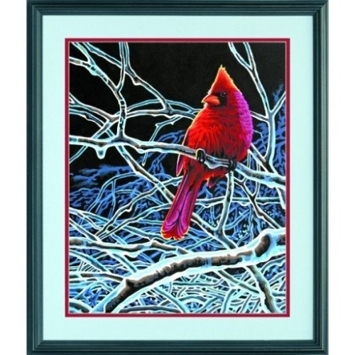 Dpw91432 - Paintsworks Paint by Numbers - Ice Cardinal