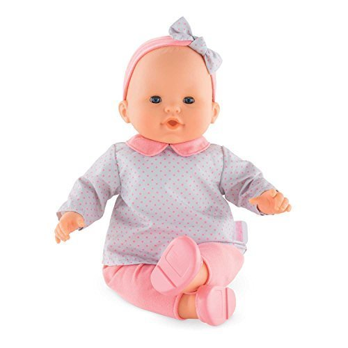 Corolle Mon Grand Poupon Louise Toy Baby Doll, Pink