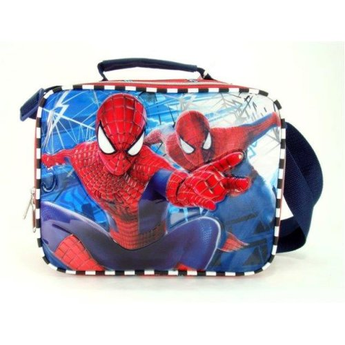 Lunch Bag - Marvel - Spiderman Boys Case Licensed New 621414