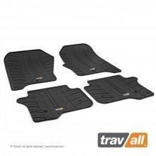 Travall Rubber Car Floor Mats [rhd] - Mini Roadster (2012-) (2pcs+fix)