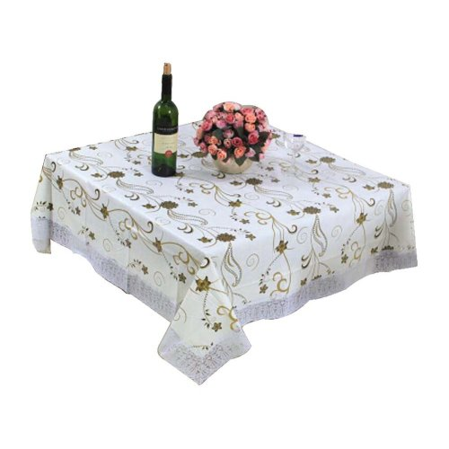 Fashionable Elegant Table Cloth/ Hi-end Large Square Dinner Tablecloths Covers