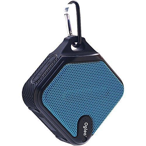 OGLEA Portable Wireless Bluetooth 4 1 Speaker Outdoor IPX 5 Waterproof 3W 45mm Drivers 8 Hour Playtime