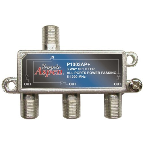 Eagle Aspen 500303 P1003ap 1000 Mhz Splitter 3 Way