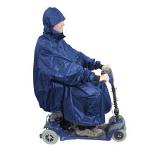 Mobility Scooter Rain Cover - 100% Waterproof mobility scooter poncho