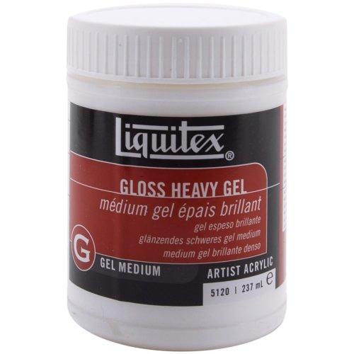 Liquitex Heavy Gloss Acrylic Gel Medium-8oz