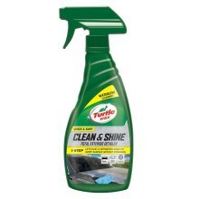 Turtle Wax Quick Easy Clean & Shine Detailer Waterless Car Wash Wax Spray 500ml