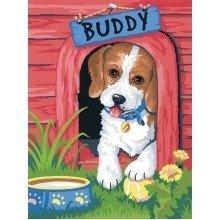 Dpw91396 - Paintsworks Learn to Paint - Cute Puppy