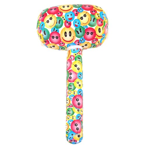 Inflatable Smiley Mallet - 66cm