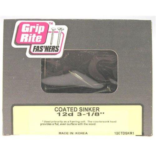Prime Source  3-.25in. Coated Smooth Shank Sinker  16CTDSKR1