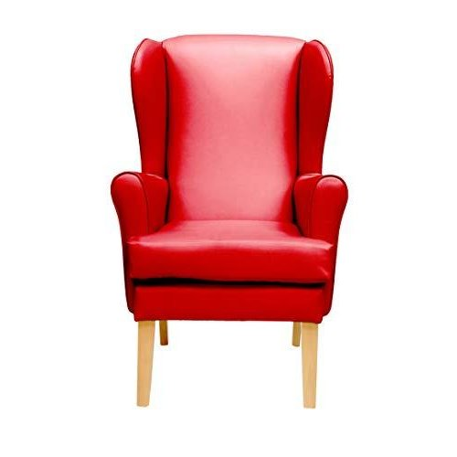 MAWCARE Morecombe Orthopaedic High Seat Chair - 21 x 18 Inches [Height x Width] in Manhattan Red (lc21-Morecombe_m)