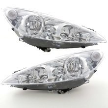 Peugeot Rcz 2010-> Headlights Headlamps 1 Pair O/s & N/s