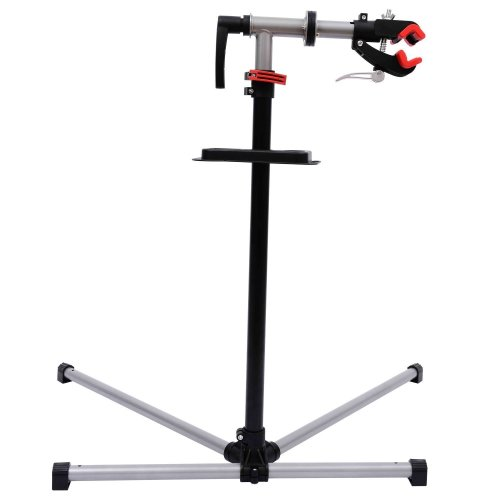 Homcom Bicycle Maintenance Repair Stand Mechanic Rack