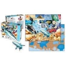 Sea Life 48 piece Floor Puzzle - WWF