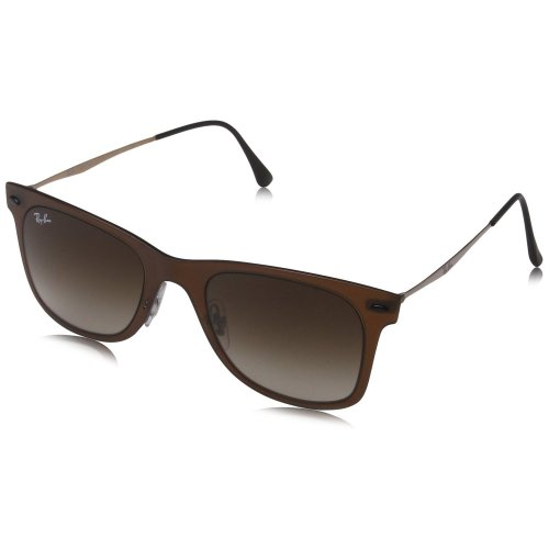 Ray-Ban Wayfarer Light Ray Brown & Grey Sunglasses | RB4210