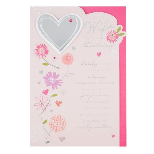 Hallmark Wife Birthday Card All My Love