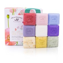 Pre de Provence French Soap Assorted Boutique Luxury Gift Box (Set of 9), Spring Citrus