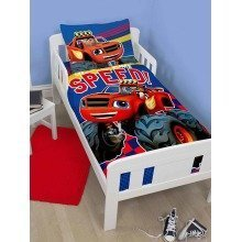 Blaze And The Monster Machines Junior / Cot Bed Duvet Cover Set