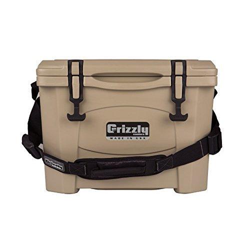 Grizzly 15 Quart Tan Cooler