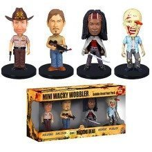 Wacky Wobblers | Mini Bobbleheads Box Set | The Walking Dead