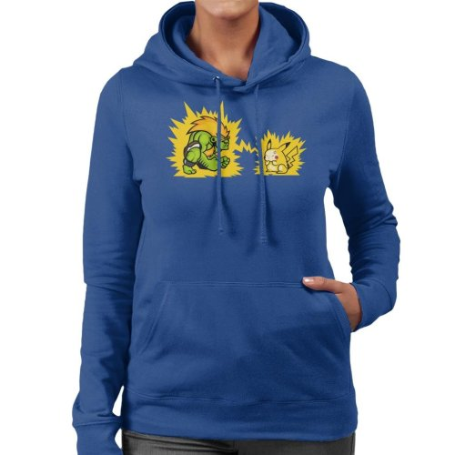 Electric Fight Women's Hooded Sweatshirt