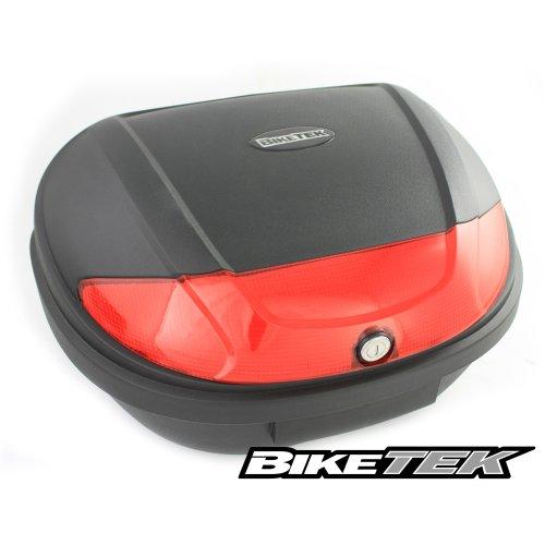 BikeTek Motorcycle Scooter Top Box Luggage Box