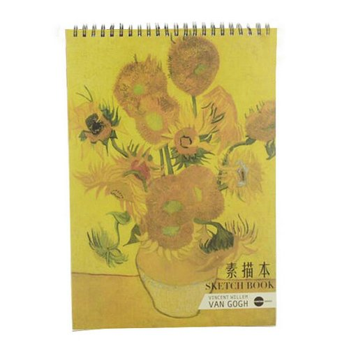 [Large Size] Practical Spiral Binding Artist Sketchbook Painting Book #05