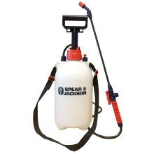 Spear & Jackson Pump Action Pressure Sprayer 5LPAPS 5L