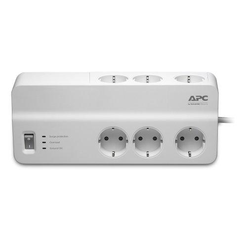 APC PM6-GR 6AC outlet(s) 230V 2m White surge protector