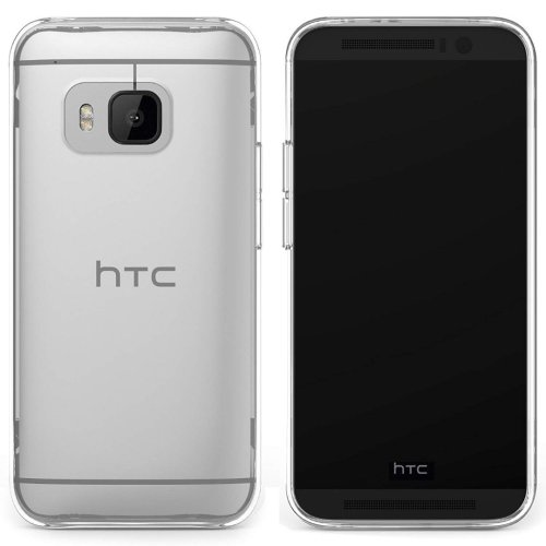 Skech Crystal Clear Case Cover for HTC One M9 (2015) Clip-On Hard Shell