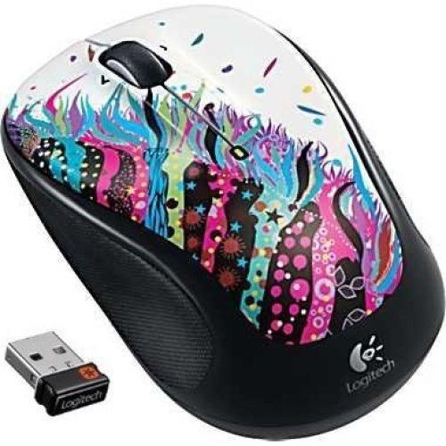 Logitech Wireless Mouse M325 Celebration Black
