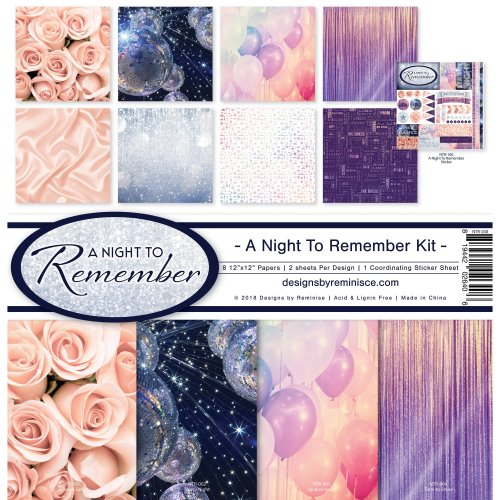 """Reminisce Collection Kit 12""""X12""""-A Night To Remember"""