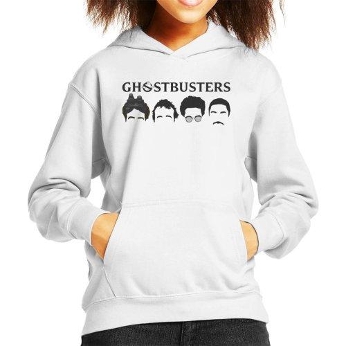 Ghostbusters Silhouette Heads Kid's Hooded Sweatshirt