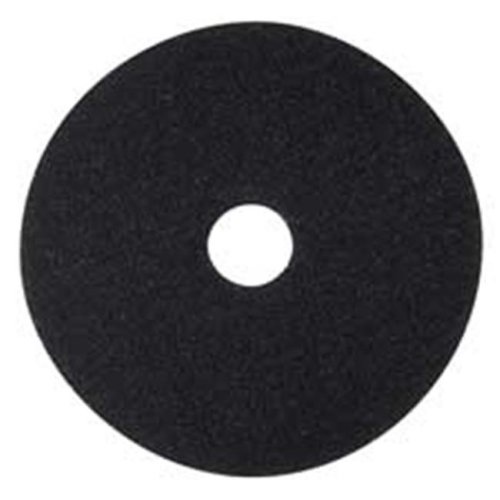 3M MMM08378 Stripping Pad- 16in.- 5-CT- Black
