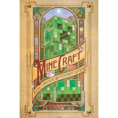 Minecraft Computronic Maxi Poster