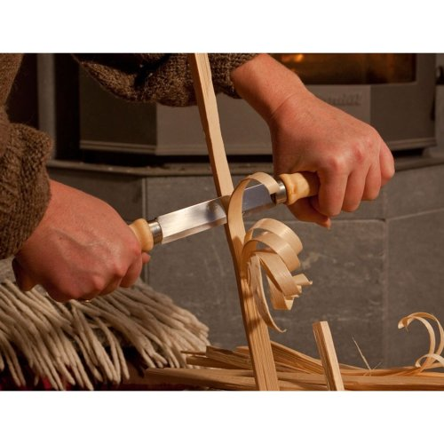 Mora 220 Classic Wood Splitting Knife - drawknife pushknife - Made in Sweden